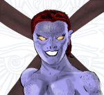 Mystique sketch colored! (Marvel Sketch Challenge) by ProjectCornDog