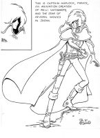 This is Captain Harlock by PDLoomis