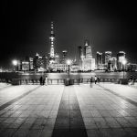 Shanghai Night Skyline by xMEGALOPOLISx