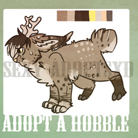 hobble (lynx deer) adopt CLOSED! by sexy-adoptsXD