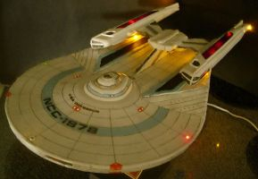 USS Odysseus--Finished--Lights by Roguewing