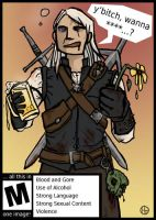 Witcher Comic by art-anti-de