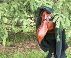 Plague Doctor Woodland Creature by JoannaCorrinCoutures