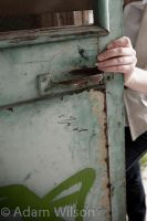 The green door by siren10101