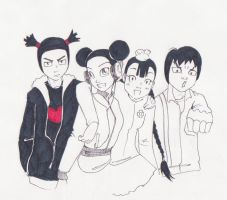 Pucca - the gang's all here by bulletproofphoenix