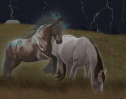 Why lightning is attracted to the lightning rod by OlympianStables