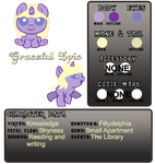 Graceful Epic Reference Sheet by para-keet-normal