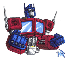 Optimus Prime by Superbdude1