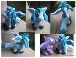 Glaceon Plush by Whyte-Raven