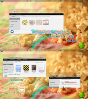 Theme For IconPackager-BlueWhite Cute by PiitufiitoGrr