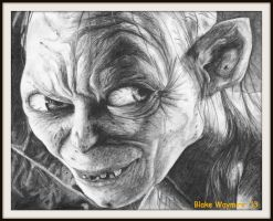 Gollum by DarkCalamity