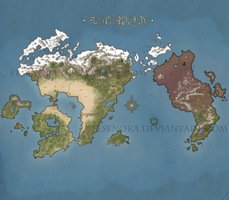 Fesenora World Map by Fesenora