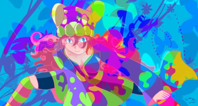 Queen of Colours by ThatChickWithDaPony