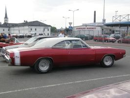 Charger red by B-219