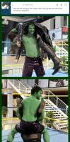 Hulk smash... again by Aruynn
