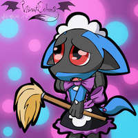 Weekly Webcam #7: Chibicario Maid by VibrantEchoes