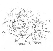 B.A.P - ZELO and TOTO by helloThar-BOO