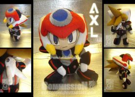 Axl Plushie commission by eERIechan
