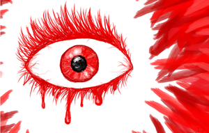 Red eye by Ivanayandere