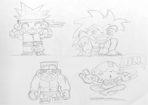 Chibi Street Fighter by epimetheus