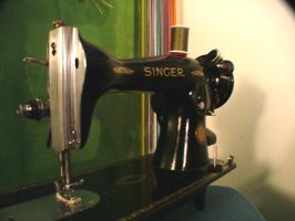 My good ol' sewing machine by Marcusstratus