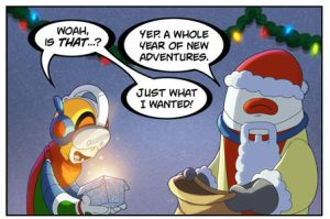 Happy Holidays from Bravoman! by D-Gee
