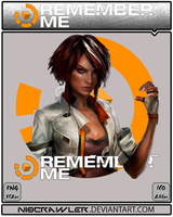 Remember Me Icon by Ni8crawler