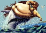 Whale Maiden by Ray-Norr