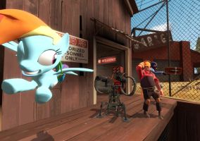 TF2 and MLP equals awesomeness by Neo222