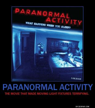 Paranormal Activity by Timekeeperxx