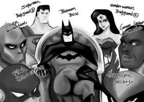 JLA by PYdiyudie