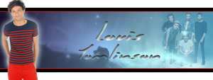 Louis Tomlinson Banner by J4MESG