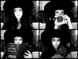 Lydia Deetz , makeup test!! by Lady-Ragdoll