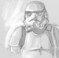Stormtrooper by ThagVictor