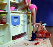 Barbie is a man killer. by EvaCagin