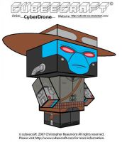 Cubeecraft - Cad Bane by CyberDrone