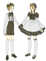 hansel and gretel pre by DarkDevi