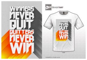 Winners Never Quit by PaulGates
