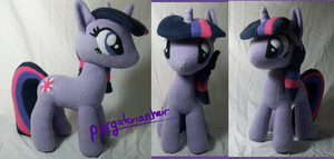 Twilight Sparkle Plush by PurgatorianHeir