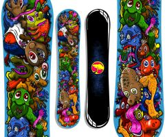 Snowboard by dunkees