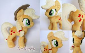 Applejack Custom Plush by Chibi-pets