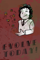 Running Out Of Evolution Puns by Elliekin