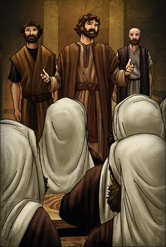By the Name of Jesus by eikonik