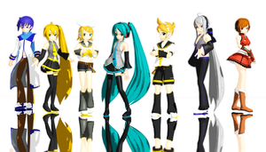 MMD MikuMikuDance by Magic-yumi