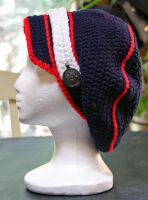 Marine Uniform Inspired Hat by CreativeExcess