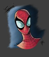 Spidey bust by Fooray by TheNass