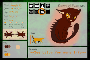 .::Dawn-Of-Warriors Application::. Umberstripe by Jewel-Shapeshifter