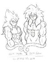 Super Saiyanjins by Nei-Ning