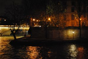 Night Time - Seine by FullSolveig