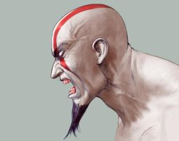 Kratos GRRRR Color by rounindx